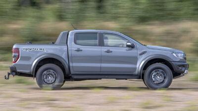 Permalänk till:Fords Ranger Raptor sätter nya standarder för pickuper