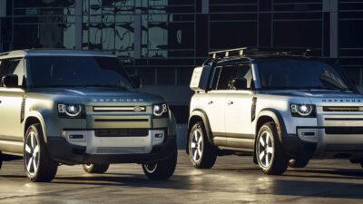 Permalänk till:Land Rover Defender 90 i 110:s spår