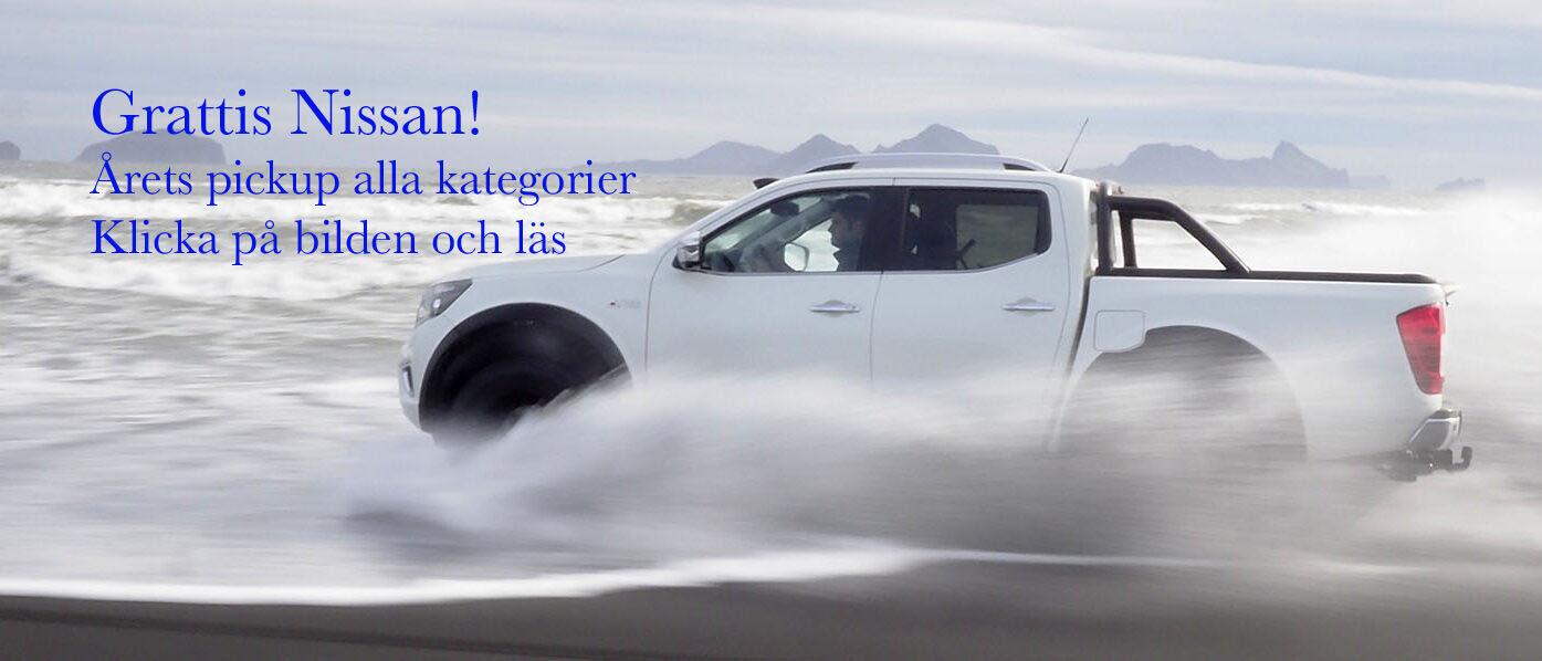 Livsstilsbilars val till Årets Pickup alla kategorier: Nissan Navara AT32