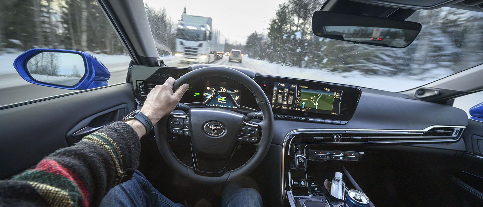 Toyota Mirai, är vätgasen ett alternativ