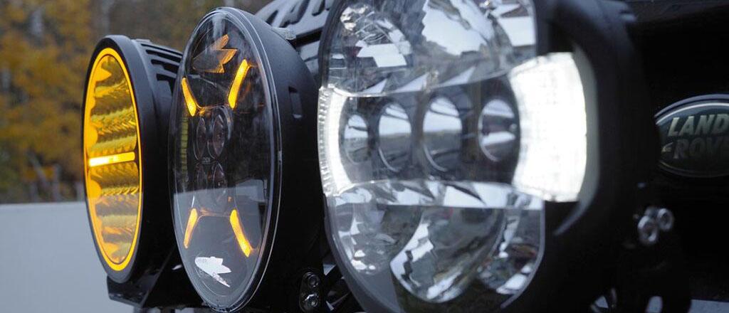 Allt om de bästa extraljusen med både LED-teknik och laserteknik.