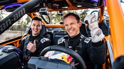 Permalänk till:Audis helsvenska och helelektriska Dakarteam